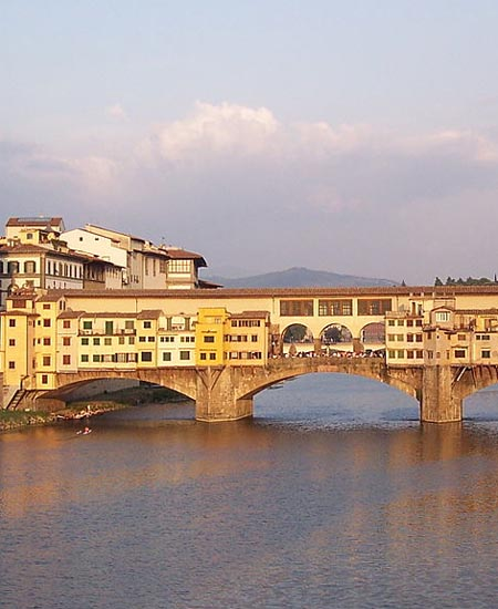 Vasari Corridor on the Ponte Vecchio